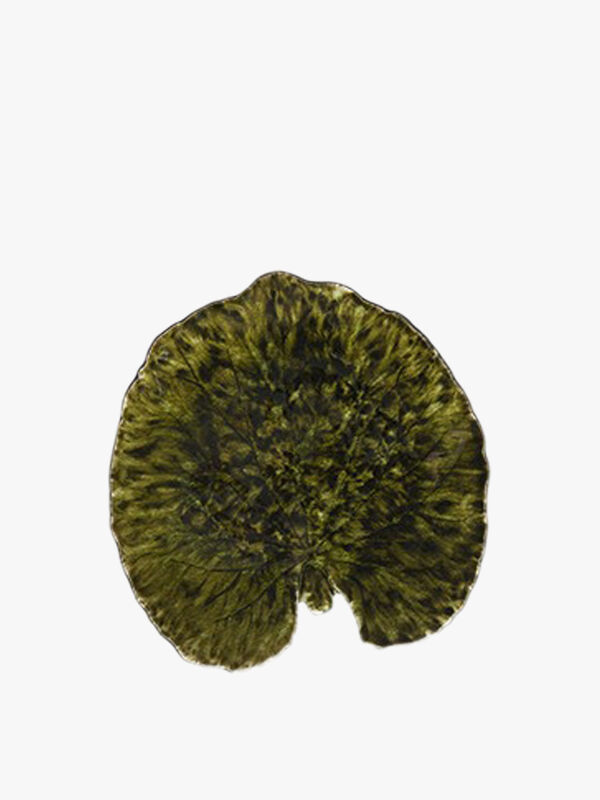 Riviera Forets Alchemille Leaf Plate