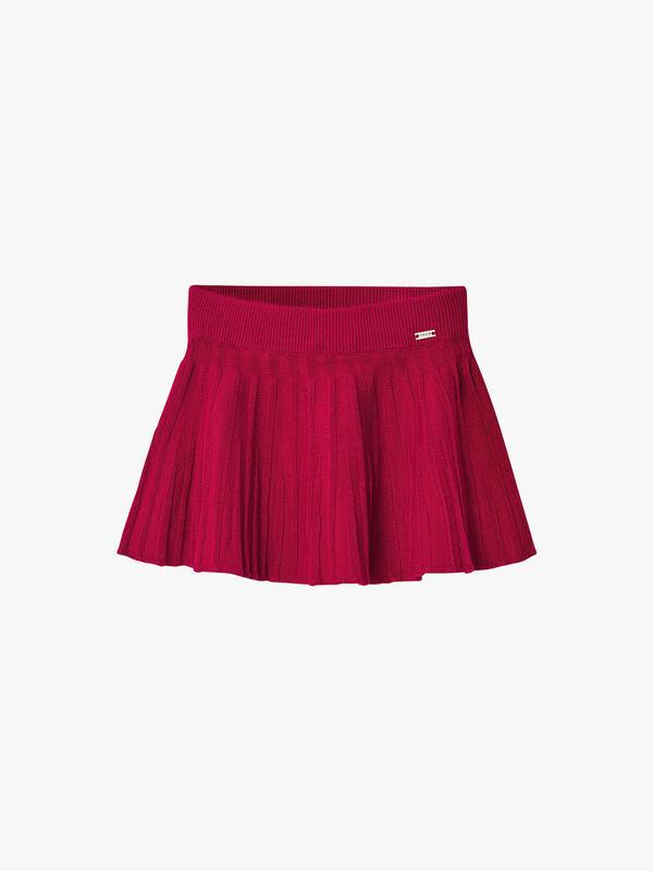 Knit Swing Skirt