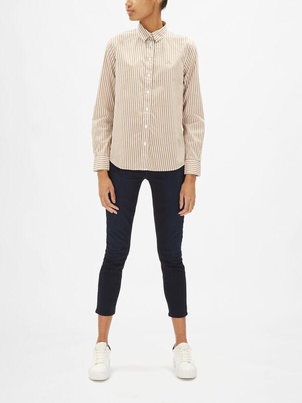 Broadcloth Stripe Shirt