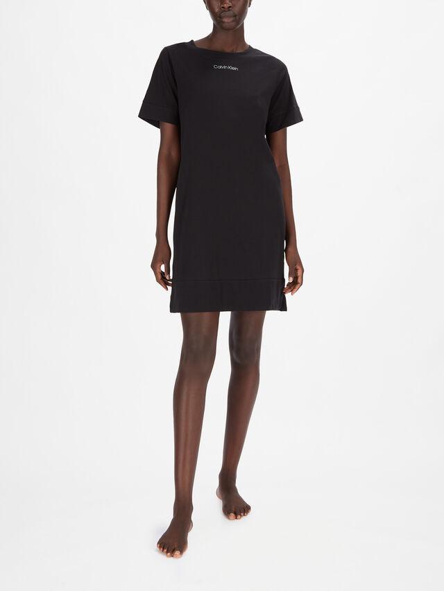 Eco Cotton Fashion Short Sleeve Nightshirt