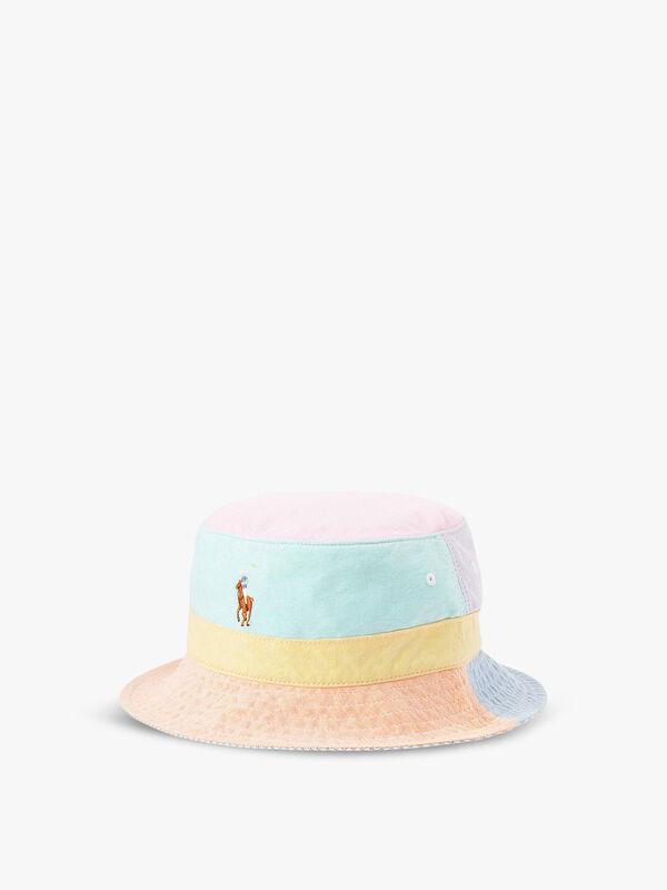 Mixed Panel Bucket Hat