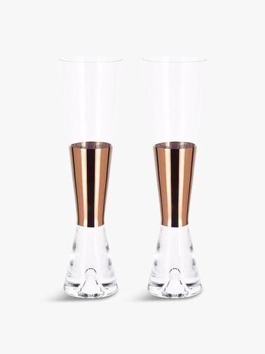 Tank Champagne Copper Glass Set of 2