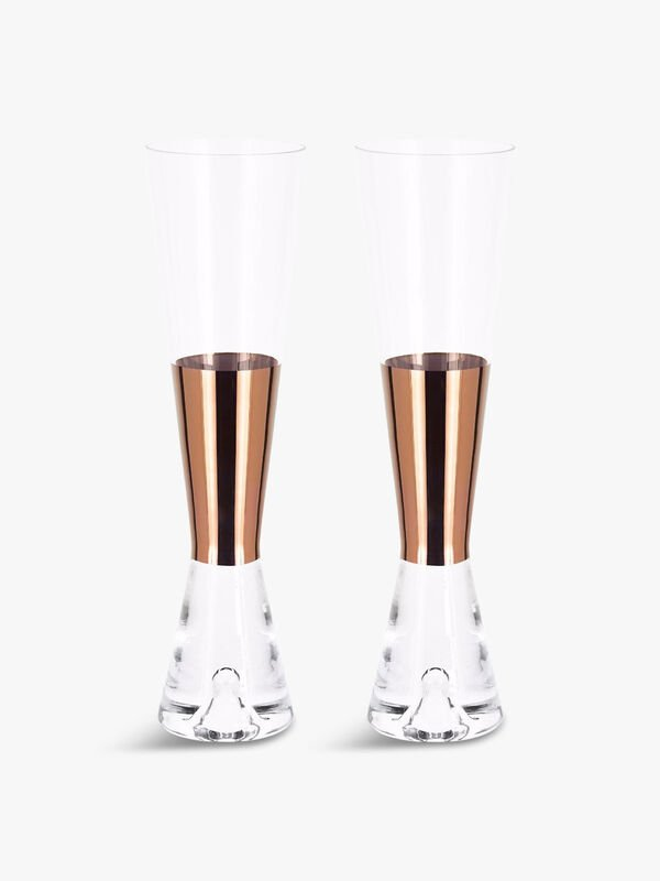 Tank Champagne Copper Glass Set of 2