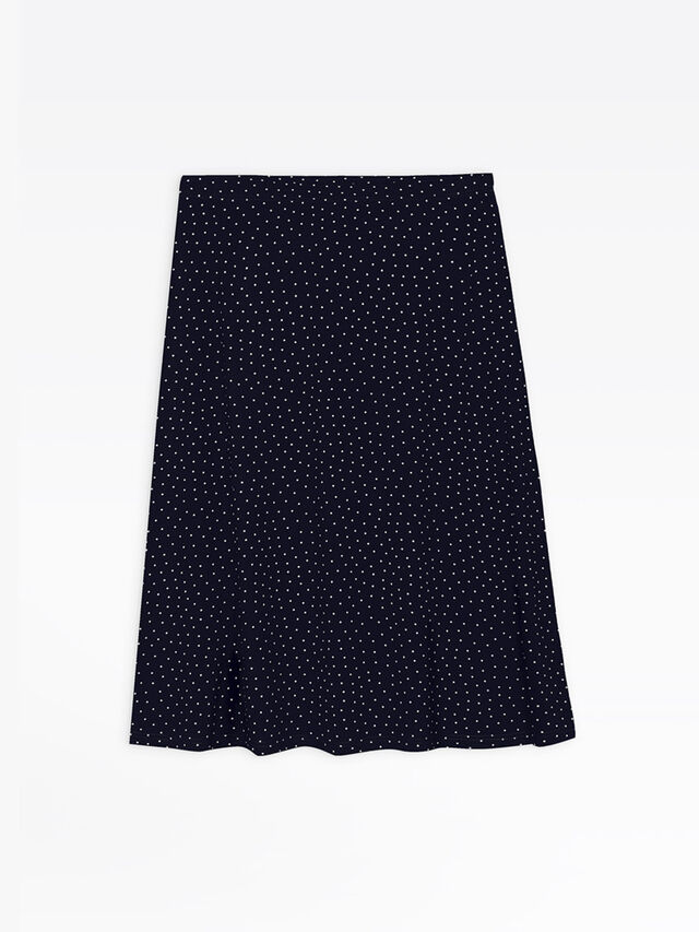 Knee Length Skirt Widen
