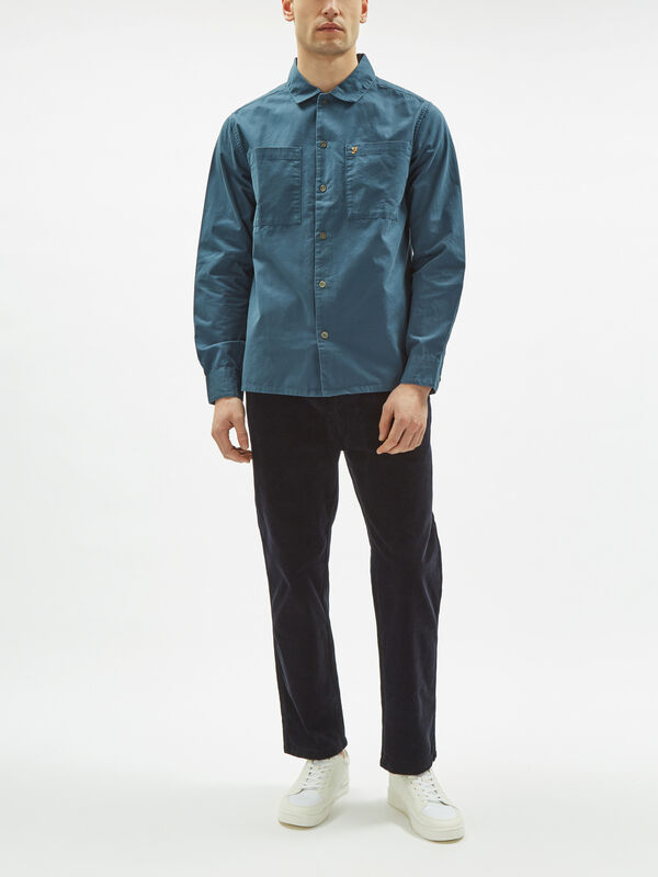 Dallam Twill Overshirt