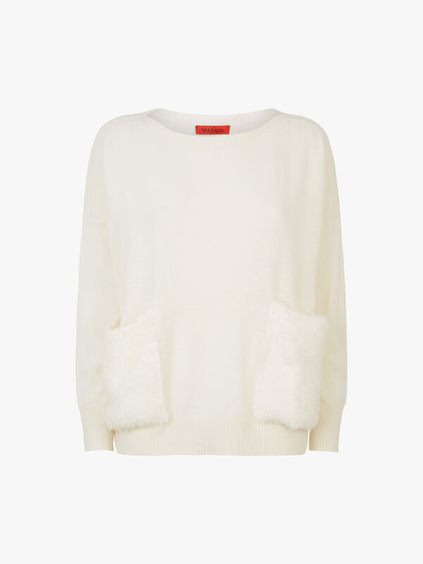 Cordiale Faux Fur Pocket Sweatshirt