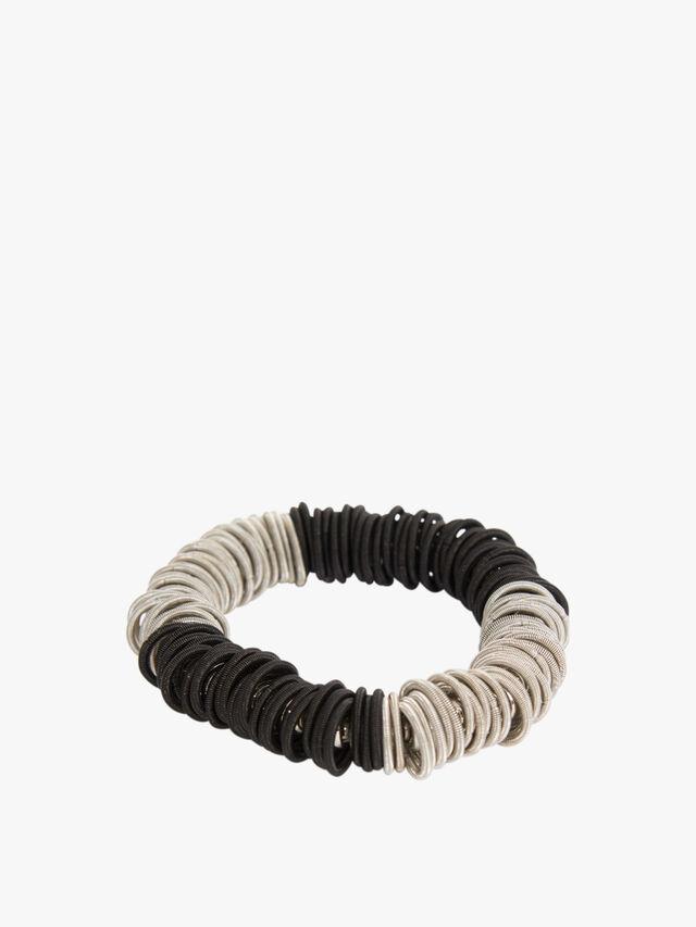 Odessa Bracelet silver / black