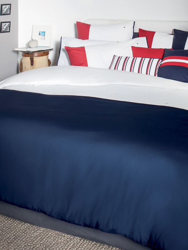 Tailor Super King Duvet Cover Navy