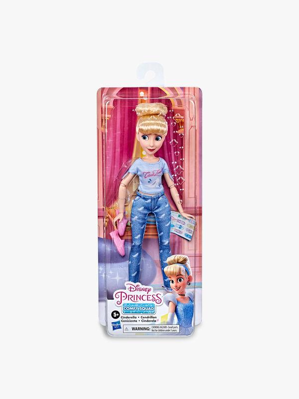 Disney Princess Comfy Squad Cinderella Fashion Doll