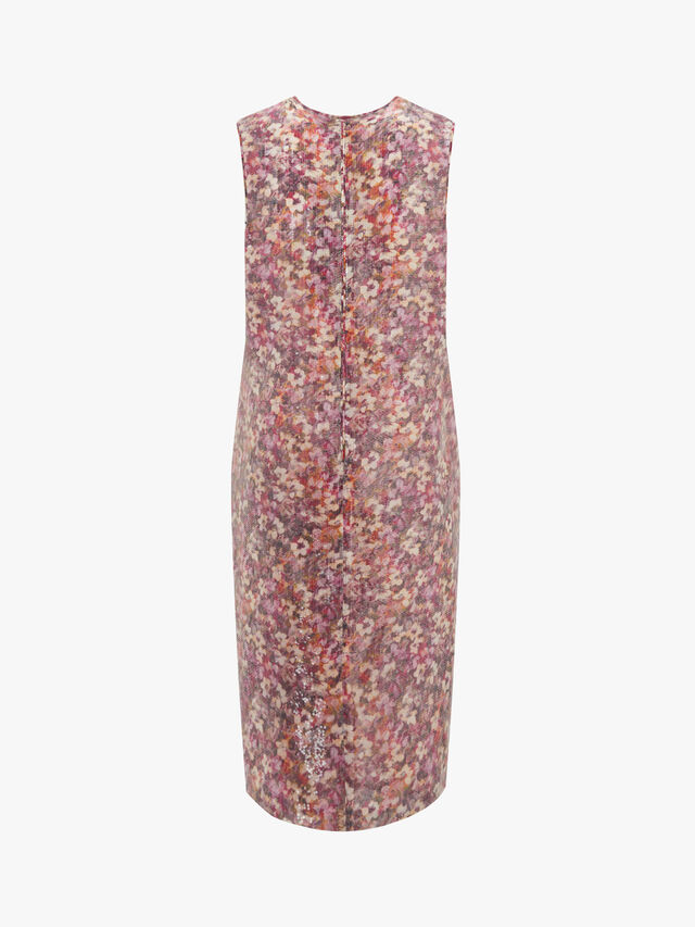 Blocco Sleeveless Sequin Dress