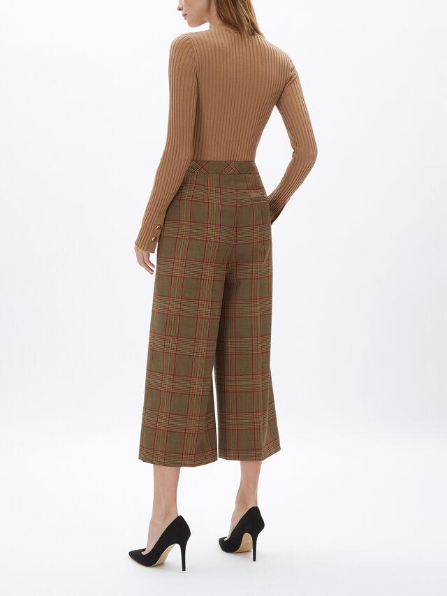 Wool Rib Knit