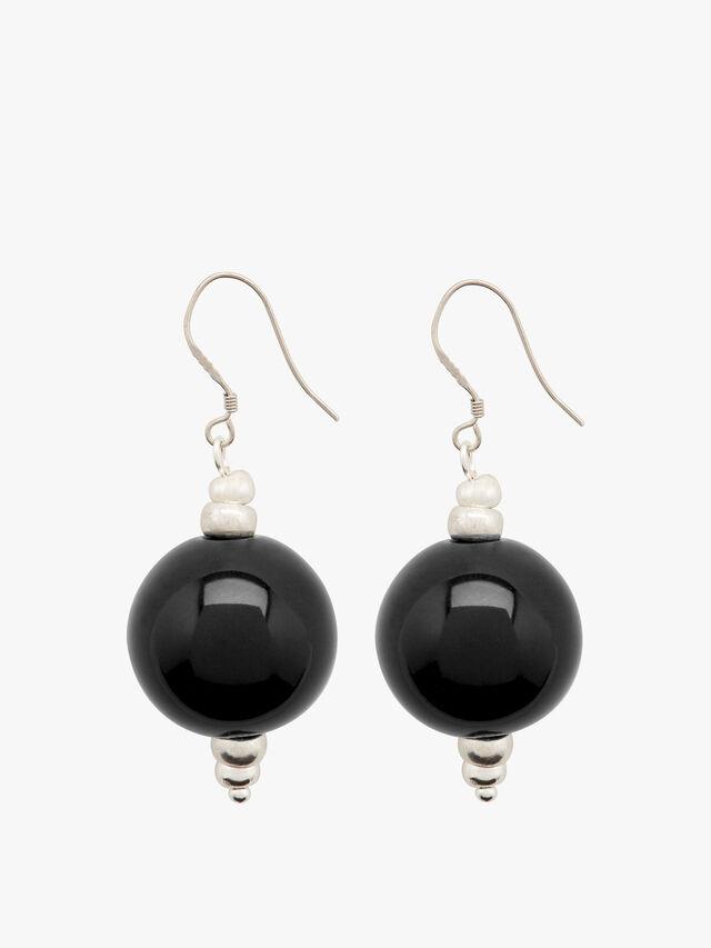 Cosmic Bead Earrings