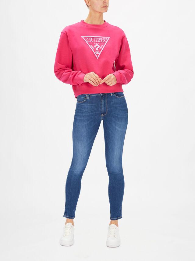 Embroidery Triangle Logo Sweatshirt