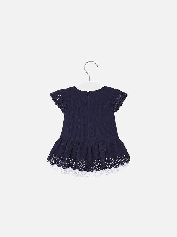 Cut Out Trim Dress