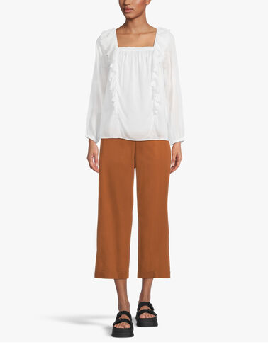 Turn-Up-Cropped-Cotton-Pull-On-Trouser-L1SK35