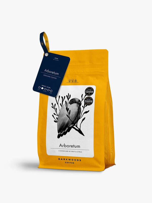 Arboretum Light Roast Ground Coffee 250g
