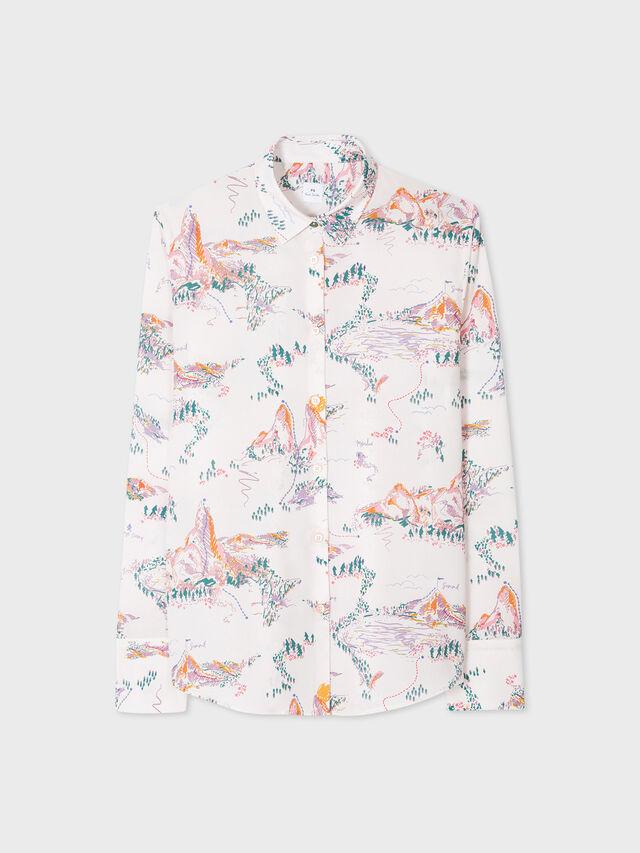 Mountain Print Shirt
