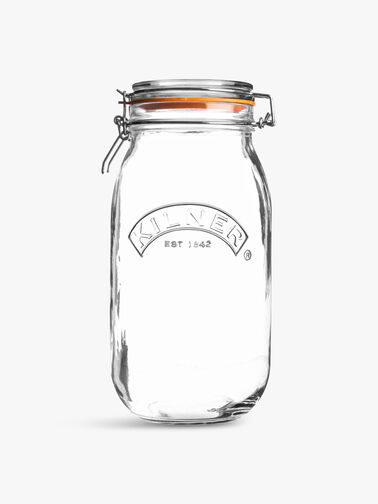 Clip Top Round Jar 1.5l