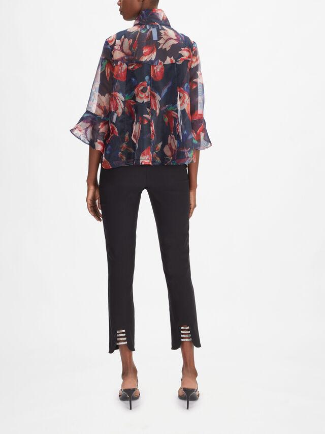 Floral Organza Jacket Shirt