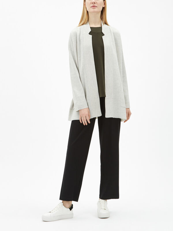 Notch Collar Cardi