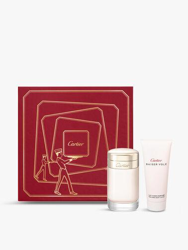 Cartier Baiser Volé Gift Set: Eau de Parfum 100ml + Body Lotion 100ml