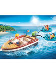 Family Fun Speedboat With Tube Riders