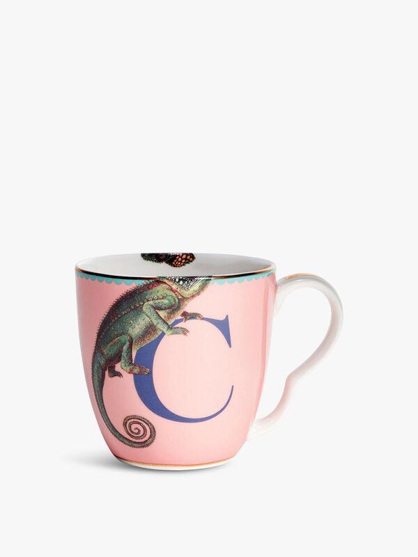 Alphabet Mug C