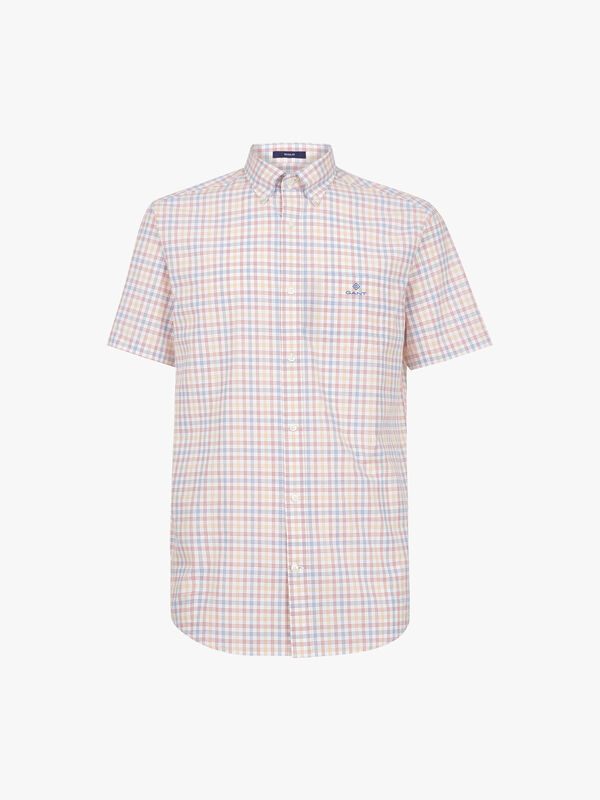 Three-Colour Tattersall Shirt