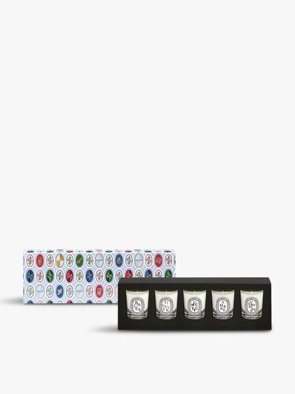 Set of Five Mini Candles