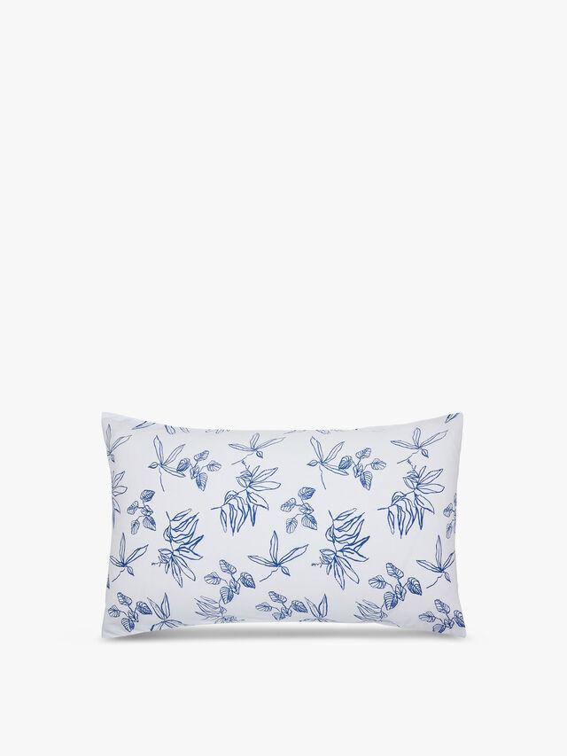Crayon Floral Pillowcase Pair