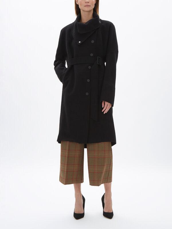Wool Mix OS Coat