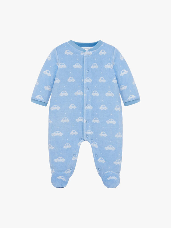 Printed Car Pyjamas