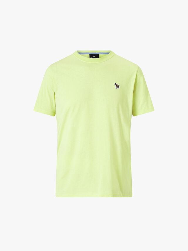 Zebra Logo Organic Cotton T-Shirt