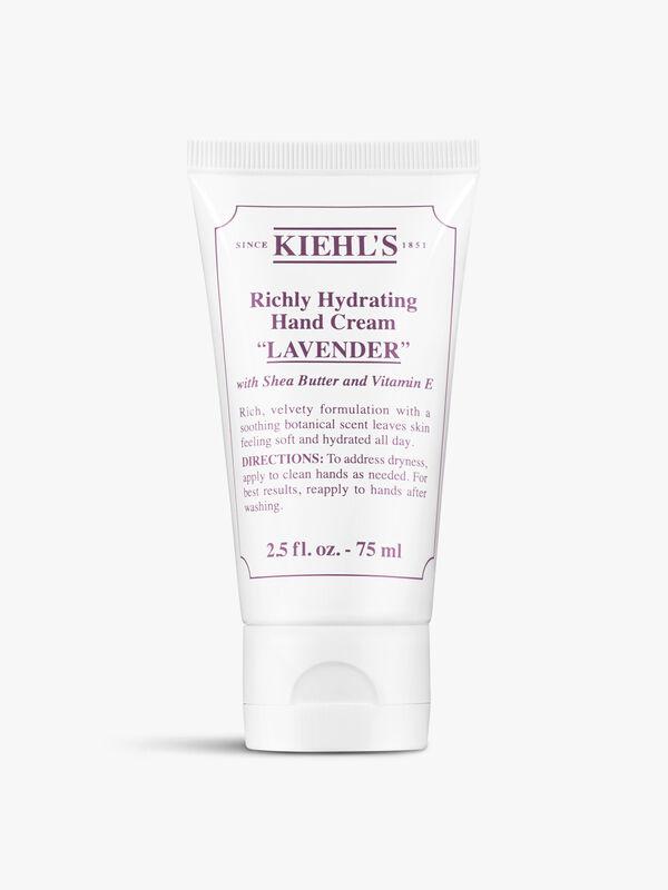 Richly Hydrating Hand Cream Lavender