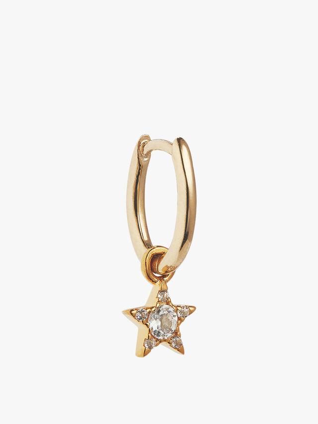 Mini Oval and Star Charm