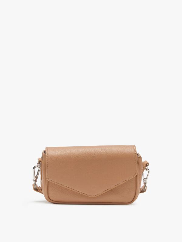 Grainy Lotus Crossbody Bag