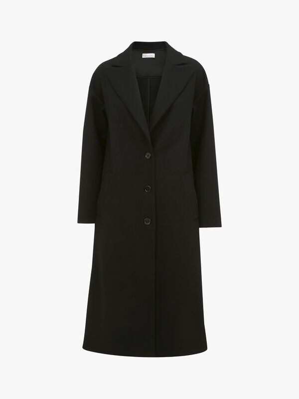Frill Detail Coat