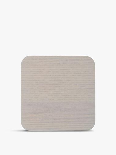 Naturals Wood Veneer 4 Piece Coasters