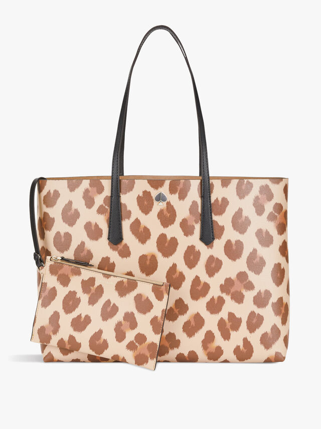 Molly Leopard Large Tote