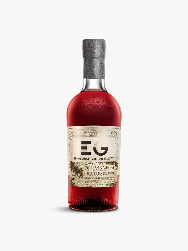 Gin Plum and Vanilla Gin Liqueur 50cl