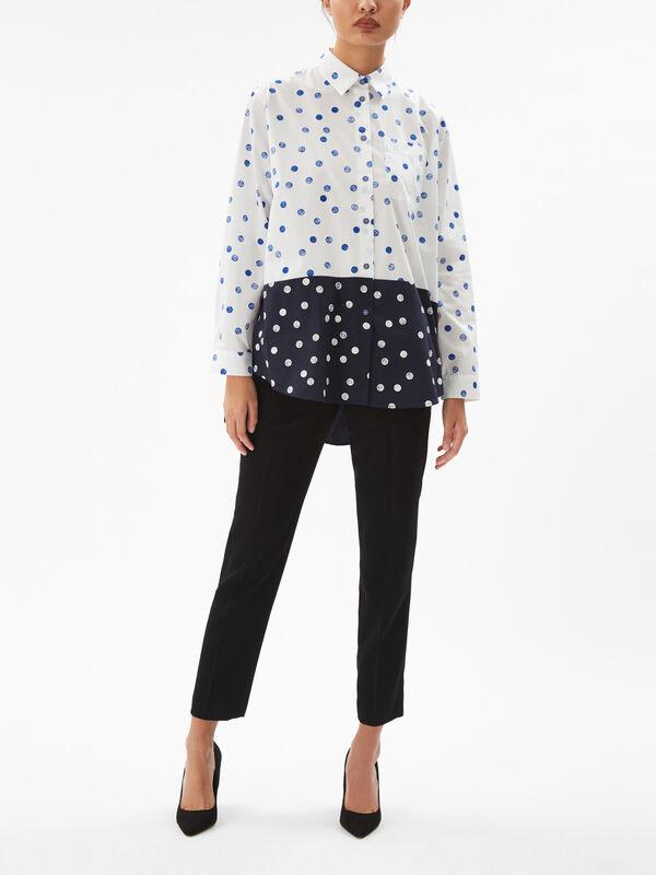 Oversize Spot Shirt