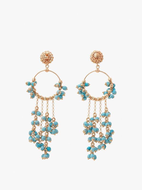 Turquoise Farfalla Earrings