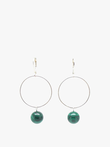 Malachite Lorna Drop Earrings