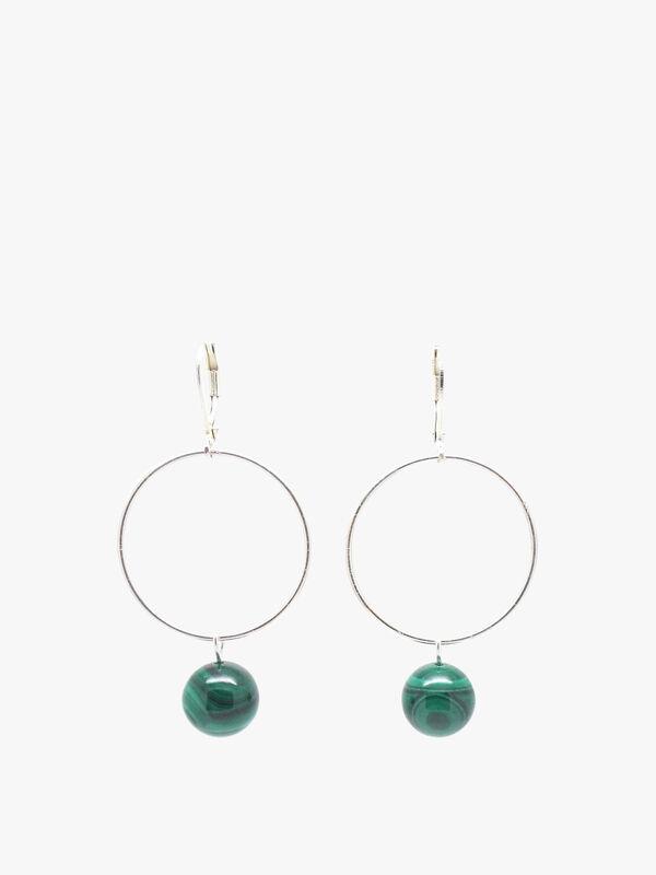 Malachite Lorna Drop Earrings