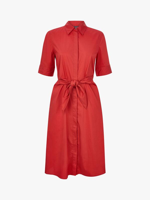 Wakana Elbow Sleeve Casual Dress