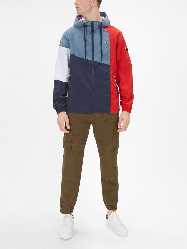 Colourblock Zip Through Jacket