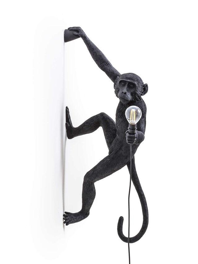 Monkey Lamp Hanging Right