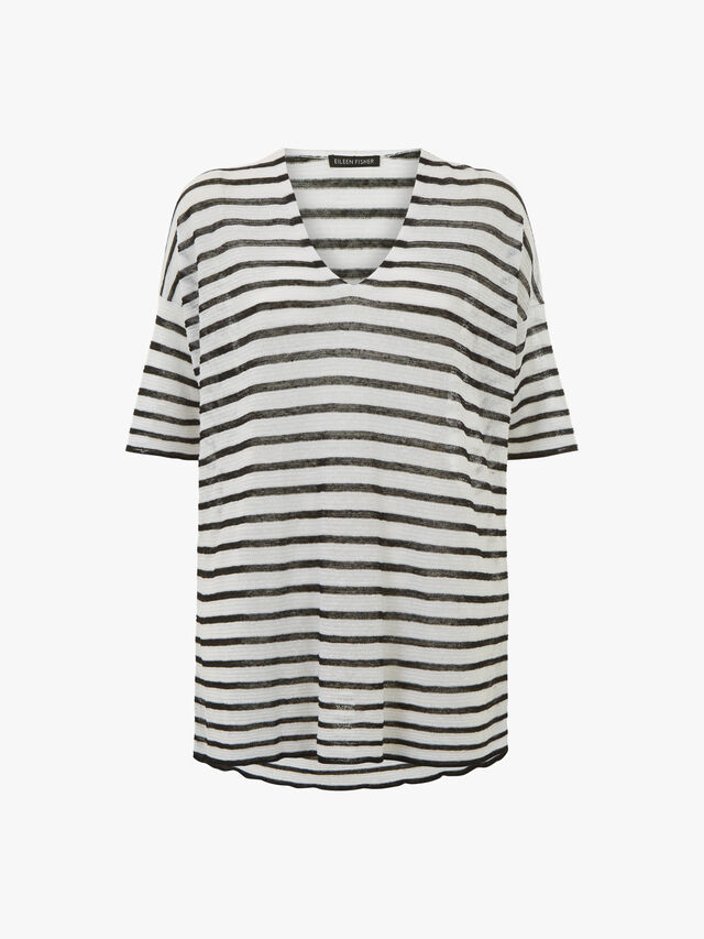 V-Neck Short Sleeve Top
