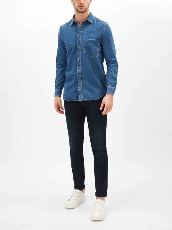 D-Ber-P Denim Shirt