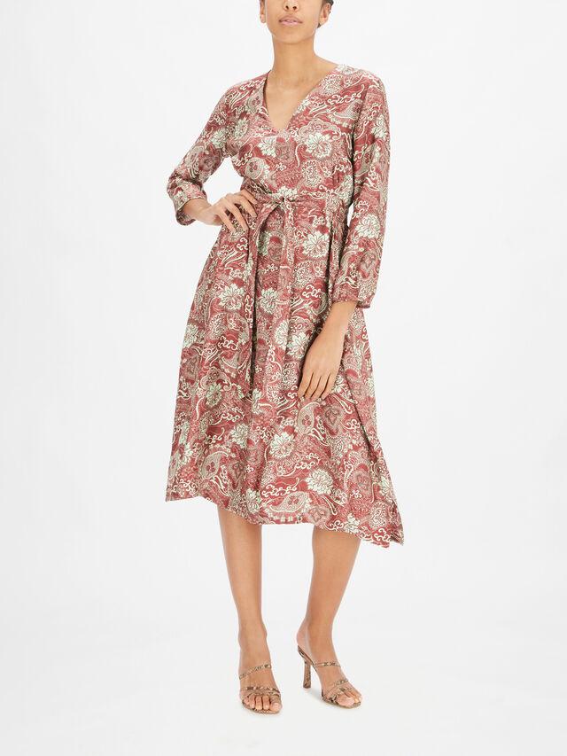 Milano Printed Dress
